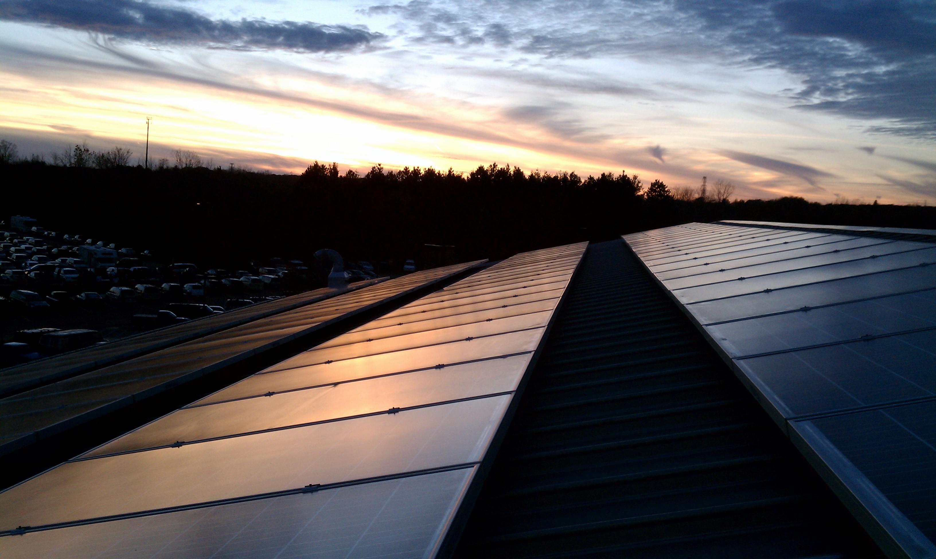 School solar array