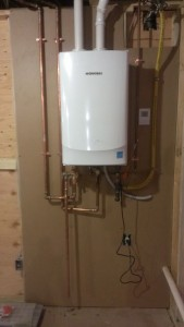 Navien Tankless water heater, AHRI .94 Energy rating